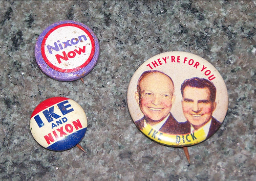 ike & dick pins