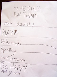 kid to do list, list, Be happy and go home | by Carissa GoodNCrazy