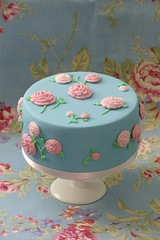 Fabric Inspired Cake | by Decorada