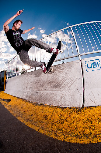 5-0 grind to fakie | by Brian Garson