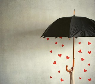 It's raining hearts | by Jenni Holma