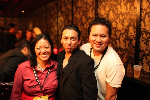 TechSet + Windows Mobile Rat Pack Party @SXSW - Charlene Li, Brian Solis, Jeremiah Owyang | by b_d_solis
