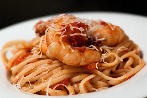 Shrimp Fra Diavolo | by TheWanderGirl