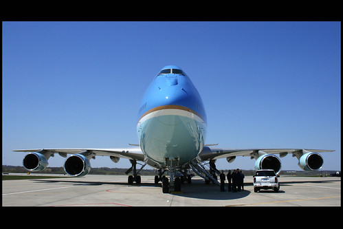 Air Force One Sits On the Ramp | by Kris Klop