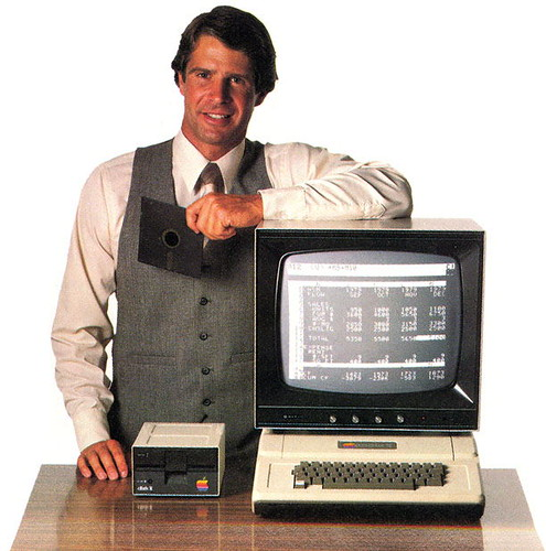Visicalc user with Apple II | by scriptingnews