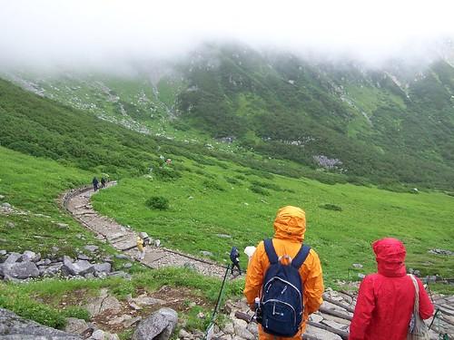 千畳敷カール(木曽駒ヶ岳, 中央アルプス) Mt.Kisokomagatake Trekking