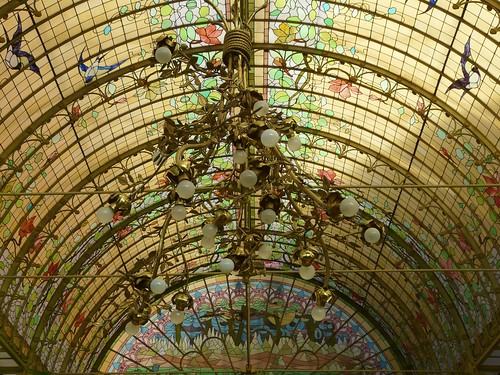 art nouveau dome of light | by e³°°°