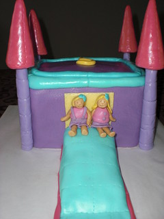 Bouncy Castle Cake - Front | by littleflour