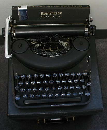"Remington Noiseless Model Seven, c. 1946 aka ""Lucky"" 