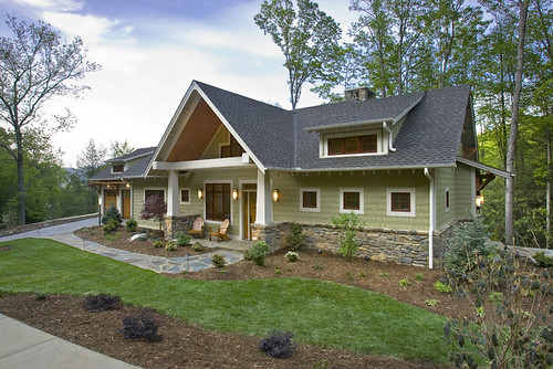 Custom Home Siding Stone Acm Design Architects Flickr
