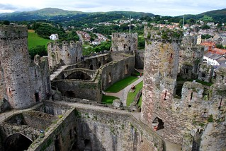 conwy castle | by hopemeng