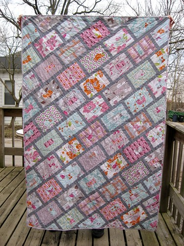 birthday quilt, front | by Britt Willis