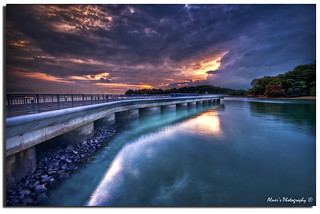 """Bridge Over Troubled Sky"" HDR 