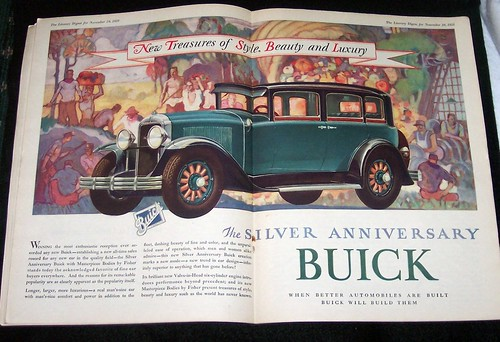 Buick, Silver Anniversary Ad, 1928 | by ozfan22