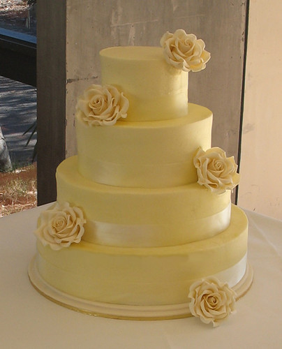 Butter Cream Wedding Cake 5 8 11 Lemon Butter Cake 14 Van Flickr