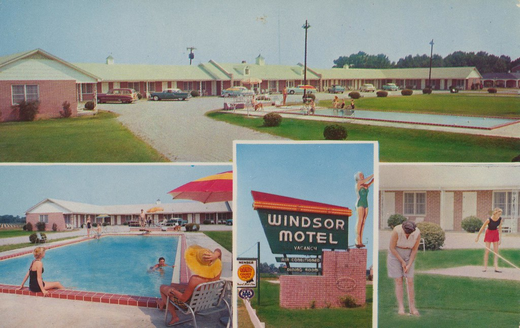 Windsor Motel and Dining Room - Summerton, South Carolina