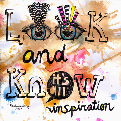 look and know | by rachealanilyse