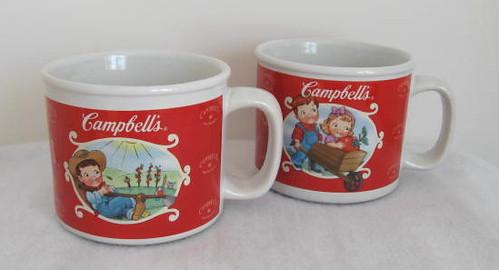 2 Campbell\'s Soup Gardening Kids Soup Mugs | Set of 2 Campbe… | Flickr