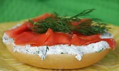 bagel and lox | by Food Blogga