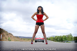 Pinup Model: Erika - The Texas Timebomb | by christopherallisonphotography