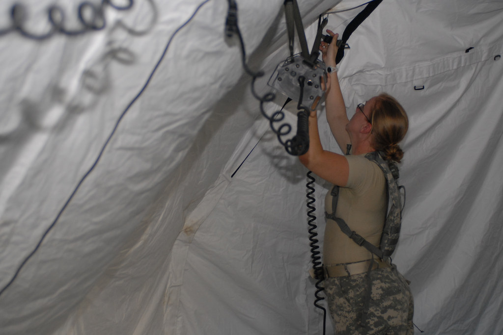 ... 116th Brigade Combat Team Soldiers dismantle DRASH tent | by Virginia Guard Public Affairs & 116th Brigade Combat Team Soldiers dismantle DRASH tent | Flickr