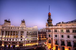 Two Banks – Dos Bancos, Madrid HDR | by marcp_dmoz