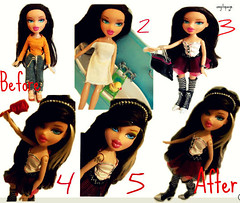 bratz P4F top modelz (international verison ) theme -magic makeover - amelia | by OMGitspaige