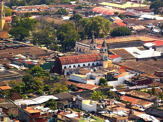 "Coatepec seen from ""Cerro de las Culebras"" 