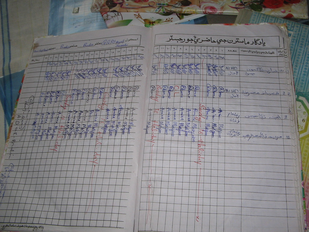 teachers attendance register saaakif flickr