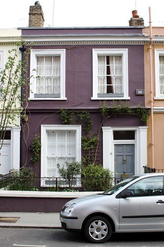 Purple House Portobello Road London Chris Goldberg Flickr