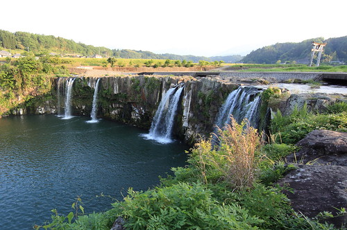 Harajiri Waterfall / 原尻の滝(はらじりのたき)