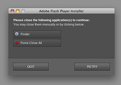 Wow, really Adobe Flash Player installer? | by factoryjoe
