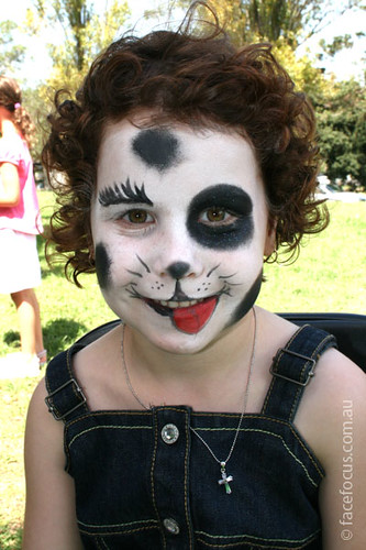 Puppy Dog Face Painting Elena Flickr