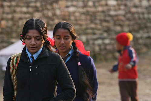 Students at Shreeshitalacom Secondary School | by World Bank Photo Collection