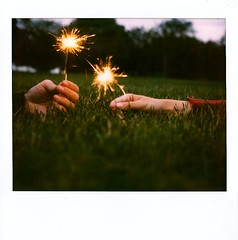 sparks in hand | by Mary...