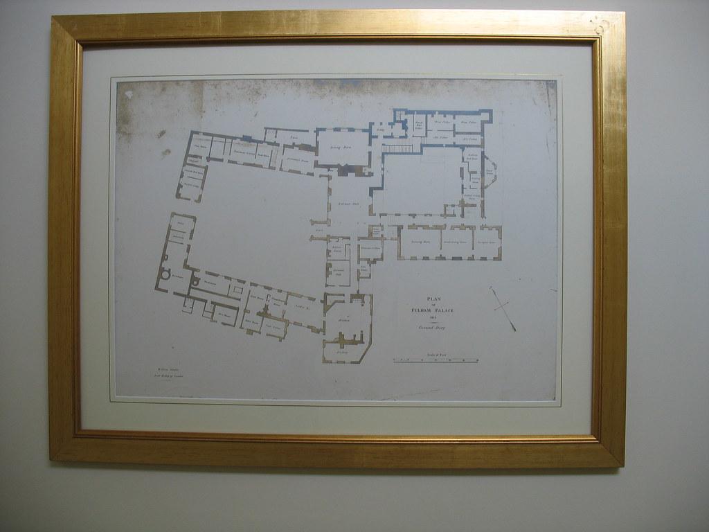 Fulham palace blueprint fulham london the blueprint of f flickr fulham palace blueprint fulham london by nikoretro malvernweather Images