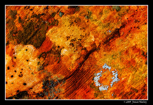 Red Rock Abstract | by James Neeley