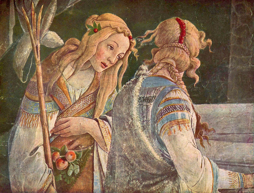 Botticelli: From the life of Moses (detail) | Sandro Bottice… | Flickr