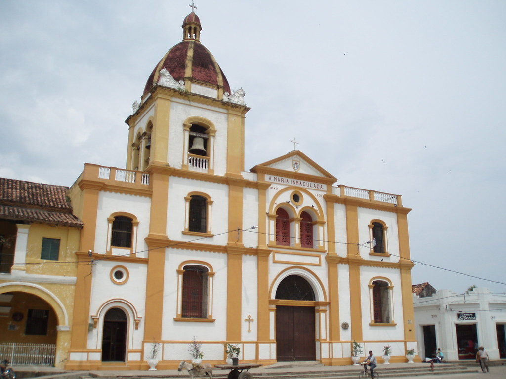 Colombia. Río Magdalena. Mompos