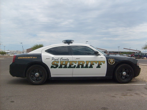 Pinal County Sheriff Charger One Of The New Chargers For