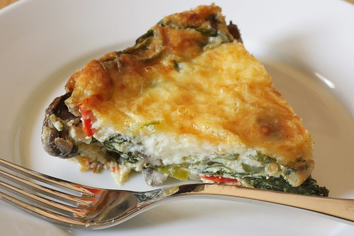 crustless quiche | by Madison Bistro