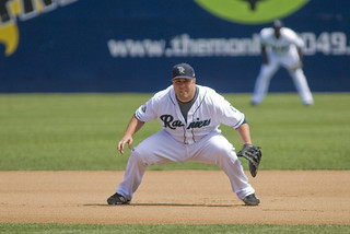 Brad Nelson covers a lot of ground at first base | by Paul T. Marsh/PositivePaul
