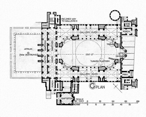 Hagia Sophia Reconstruction Plan Title Hagia Sophia Othe Flickr