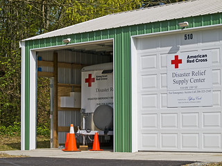 Disaster Relief Supply Center | by Michael @ NW Lens