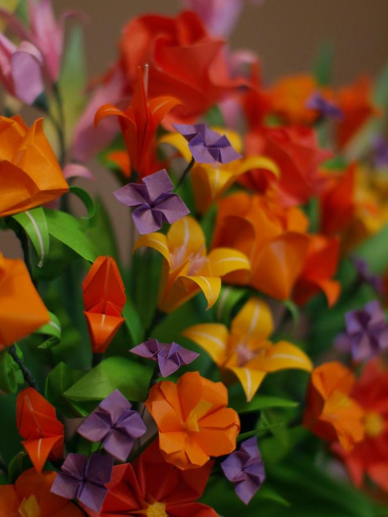 Washinoya Assorted Bright Spring Flowers A Bright Assort Flickr