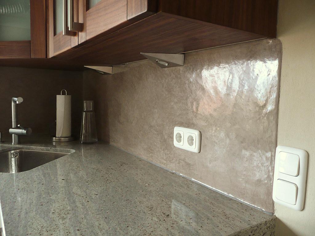 Statt Fliesenspiegel – Tadelakt in der Küche | claudia.roessner | Flickr