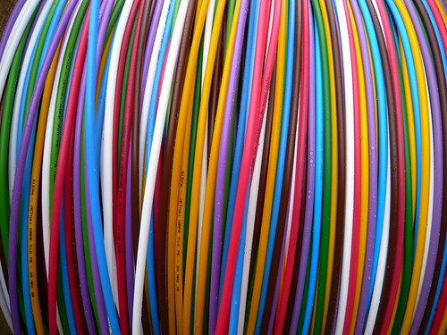 Coloured Cable | by oerendhard1