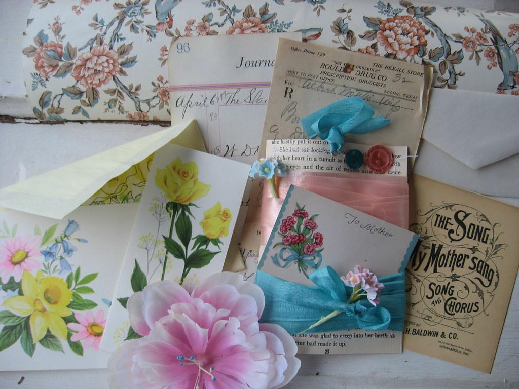 Vintage Flower For Mother Mother S Day Craft Kit Brandy Flickr
