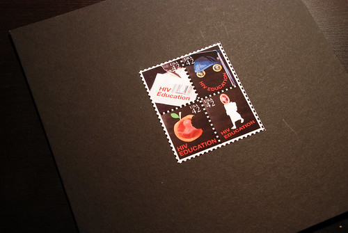 HIV stamp series | by Dustin Watson Design