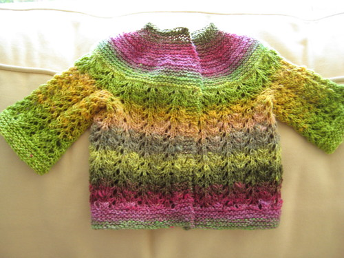Baby Sweater of Many Colors | by robinkziegler